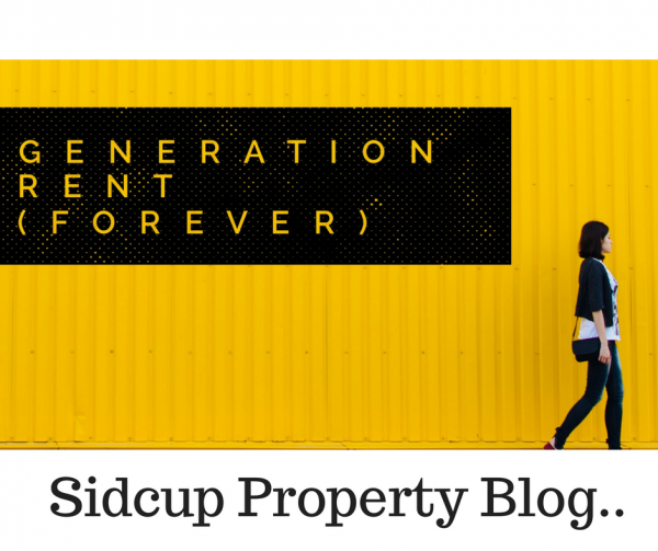 'Generation Rent (Forever)' – 2,132 Sidcup Tenants have no intention of ever buy